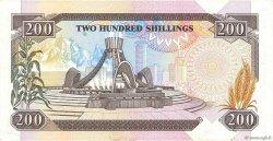 200 Shillings KENYA  1990 P.29b SUP