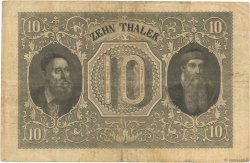 10 Thaler ALLEMAGNE  1855 P.S0307 TB+