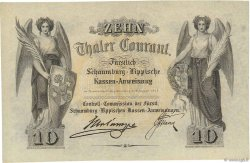 10 Thaler ALLEMAGNE  1857 PS.0733p pr.NEUF