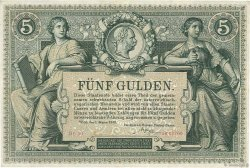 5 Gulden AUTRICHE  1881 P.A154 pr.SUP