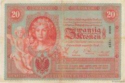 20 Kronen AUTRICHE  1902 P.005 pr.TTB