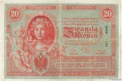 20 Kronen AUTRICHE  1902 P.005 TTB