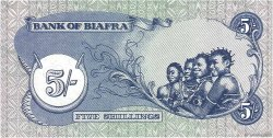 5 Shillings BIAFRA  1968 P.03a NEUF