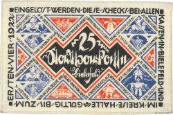 25 Mark ALLEMAGNE Bielefeld 1921  SPL