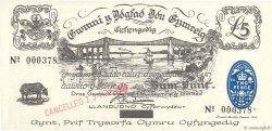 5 Pounds PAYS DE GALLES  1969 P.-- NEUF