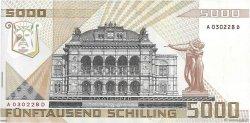5000 Schilling AUTRICHE  1988 P.153 pr.SUP