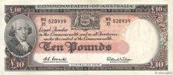 10 Pounds AUSTRALIE  1961 P.36a TTB