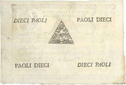 10 Paoli ITALIE  1798 P.S540a SPL