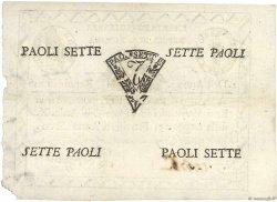 7 Paoli ITALIE  1798 PS.537 SUP+