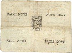 9 Paoli ITALIE  1798 PS.539 TB+