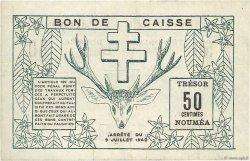 50 Centimes NOUVELLE CALÉDONIE  1942 P.51 TTB+