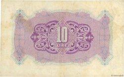 10 Lire LIBYE  1943 P.M4a TTB