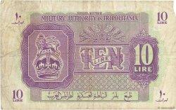 10 Lire LIBYE  1943 P.M4a TB+