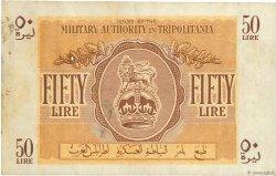 50 Lire LIBYE  1943 P.M5a pr.TTB