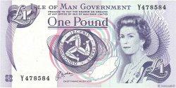 1 Pound ÎLE DE MAN  1983 P.40b NEUF