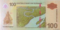 100 Dollars SURINAM  2012 P.166b NEUF