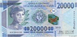 20000 Francs GUINÉE  2015 P.New NEUF