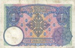 1 Ngultrum BHOUTAN  1974 P.01 pr.TTB