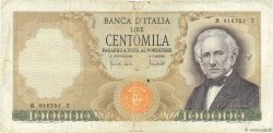 100000 Lire ITALIE  1970 P.100b TB+