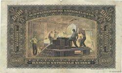 1000 Francs SUISSE  1947 P.37h TB