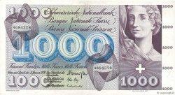 1000 Francs SUISSE  1970 P.52i TTB+
