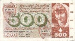 500 Francs SUISSE  1965 P.51d pr.TTB