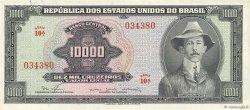 10000 Cruzeiros BRÉSIL  1966 P.182Ba SUP+