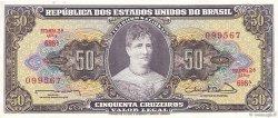 50 Cruzeiros BRÉSIL  1963 P.179 NEUF