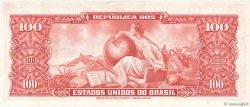 100 Cruzeiros BRÉSIL  1963 P.180 SPL