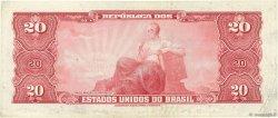 20 Cruzeiros BRÉSIL  1963 P.168b TTB