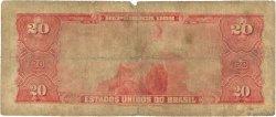20 Cruzeiros BRÉSIL  1963 P.168b B