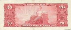 20 Cruzeiros BRÉSIL  1961 P.168a SUP