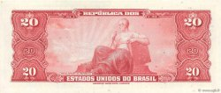 20 Cruzeiros BRÉSIL  1961 P.168a SPL