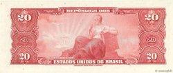 20 Cruzeiros BRÉSIL  1961 P.168a NEUF