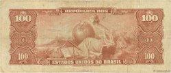 100 Cruzeiros BRÉSIL  1964 P.170b TB