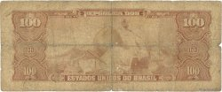 100 Cruzeiros BRÉSIL  1964 P.170b AB