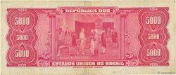 5000 Cruzeiros BRÉSIL  1964 P.174b TB