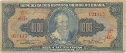 1000 Cruzeiros BRÉSIL  1962 P.173b pr.B