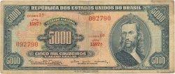 5000 Cruzeiros BRÉSIL  1965 P.174c B