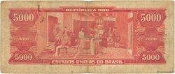 5000 Cruzeiros BRÉSIL  1964 P.182b B
