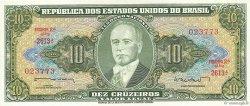 10 Cruzeiros BRÉSIL  1962 P.177a SPL
