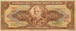 20 Cruzeiros BRÉSIL  1962 P.178 B