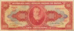 100 Cruzeiros BRÉSIL  1963 P.180 TB