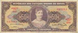 50 Cruzeiros BRÉSIL  1963 P.179 TB