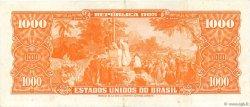 1000 Cruzeiros BRÉSIL  1963 P.181 TTB+