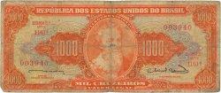 1000 Cruzeiros BRÉSIL  1963 P.181 B