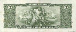 1 Centavo sur 10 Cruzeiros BRÉSIL  1967 P.183b TTB