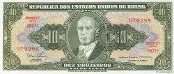 1 Centavo sur 10 Cruzeiros BRÉSIL  1966 P.183a SPL