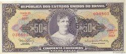5 Centavos sur 50 Cruzeiros BRÉSIL  1966 P.184a TTB