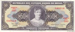5 Centavos sur 50 Cruzeiros BRÉSIL  1966 P.184a NEUF